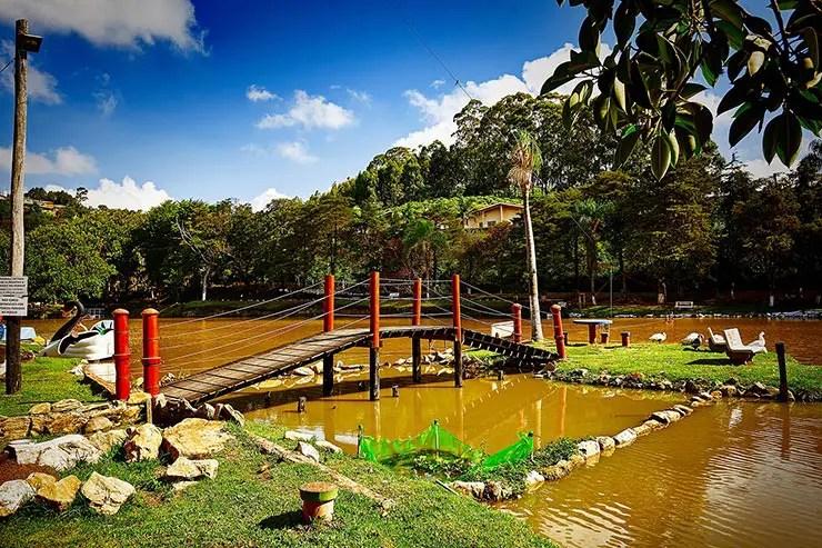 Lago dos Macaquinhos em Serra Negra (Foto: Secretaria de Turismo de SP/Aniello de Vita - Expressão Studio)