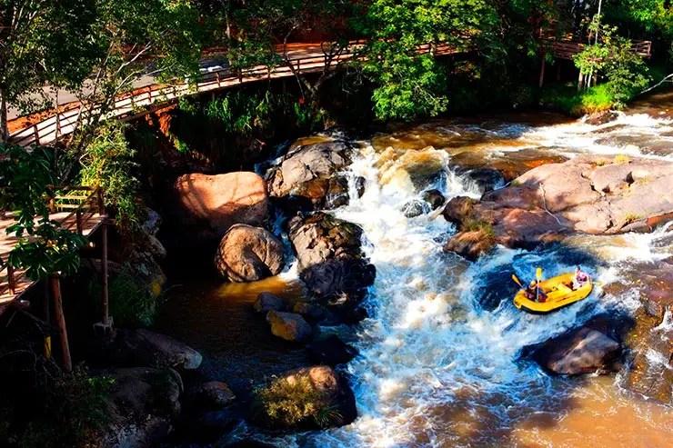 Onde ficar em Socorro: Uma das principais atrações da cidade é o Rafting (Foto: VGCOM - Astur - Jeferson Salgueiro)