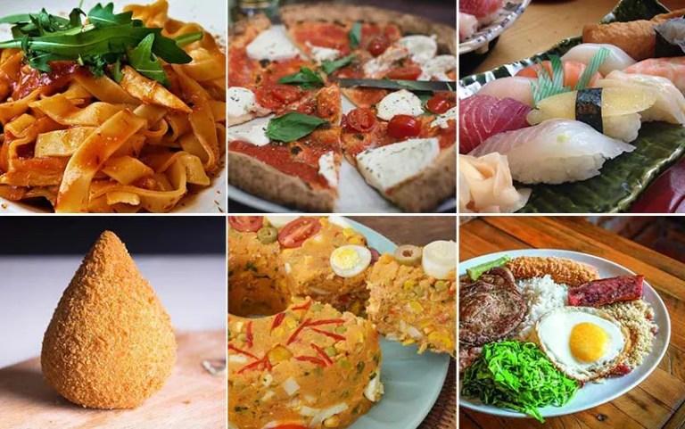 Fotos de comidas típicas de SP