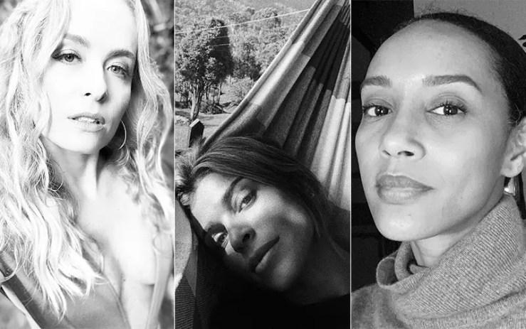 Angélica, Grazi Massafera e Taís Araújo postaram Desafio Aceito (Foto: Instagram)