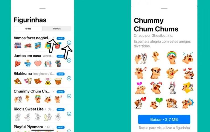 Stickers que se mexem no WhatsApp (Foto: Esse Mundo é Nosso)