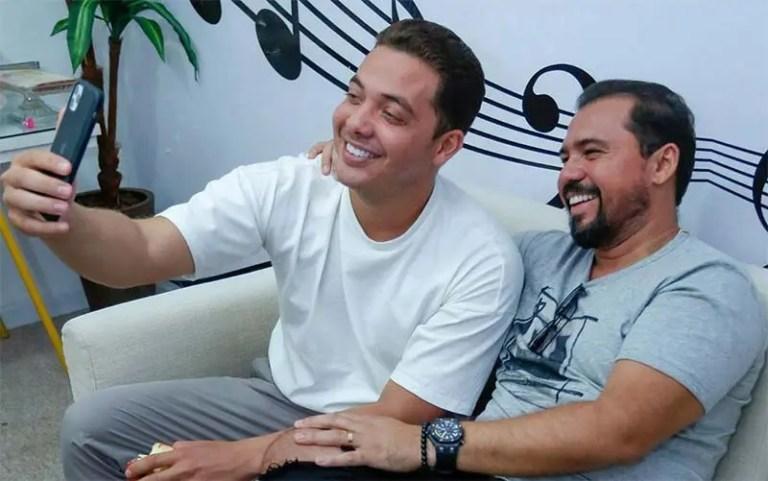 Live de Wesley Safadão e Xand Avião (Foto: Divulgação/Instagram)
