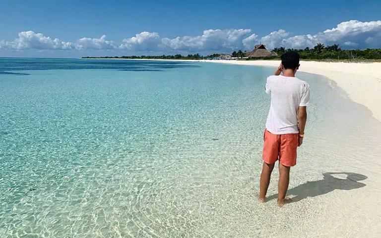 Playa Chunchacab, a mais praia mais bonita de Cozumel (Foto: Esse Mundo É Nosso)