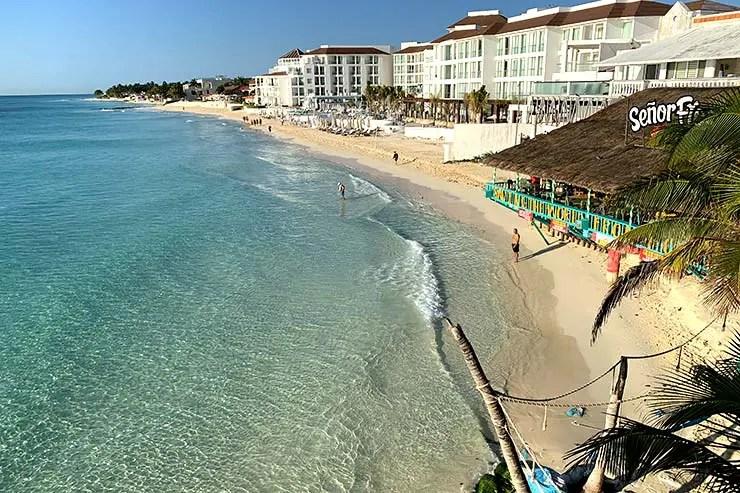 Playa Playacar (Foto: Esse Mundo É Nosso)