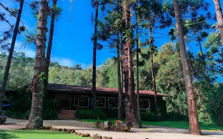 Hotéis e pousadas em Cunha: Parte externa da Pousada Barra do Bié (Foto: Reprodução/Booking)