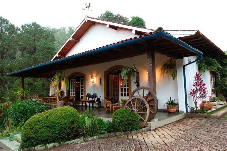 Hotel Fazenda São Francisco em Cunha (Foto: Reprodução/Booking)