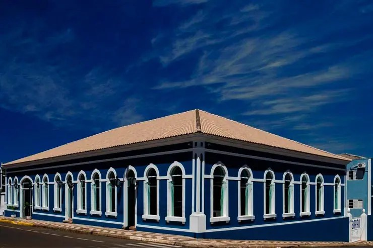 Hotéis e pousadas em Brotas: Entrada da Pousada Casarão (Foto: Reprodução/Booking)
