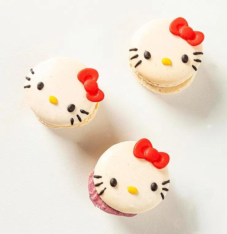 Macarons da Hello Kitty (Foto: Divulgação)