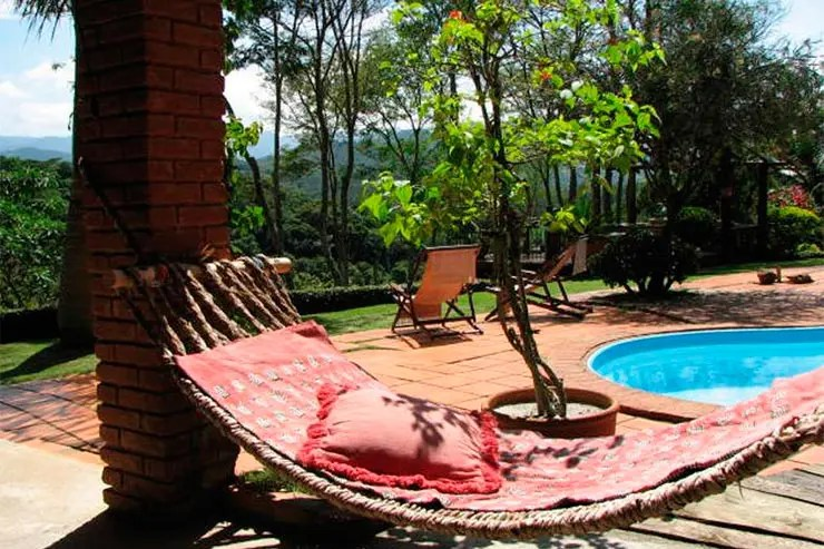 Hotéis e pousadas em Santo Antônio do Pinhal: Pousada Champagny (Foto: Reprodução/Booking)