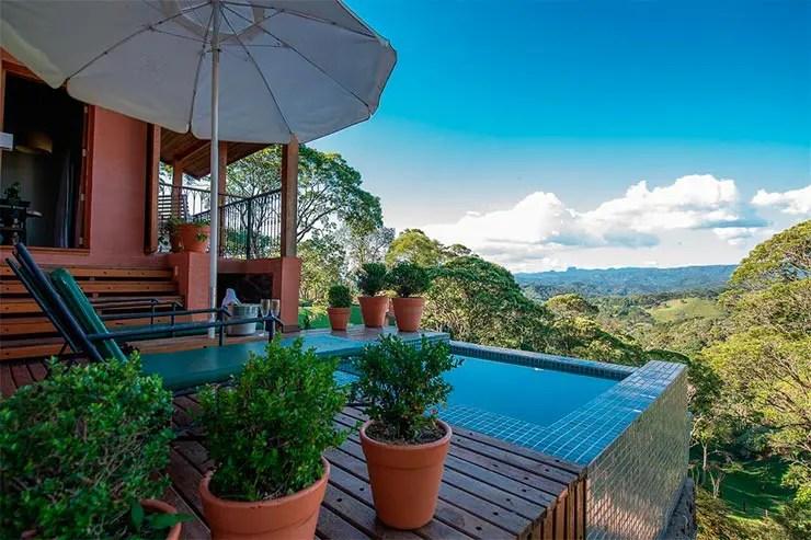Hotéis e pousadas em Santo Antônio do Pinhal: Vista da Quinta dos Pinhais (Foto: Reprodução/Booking)
