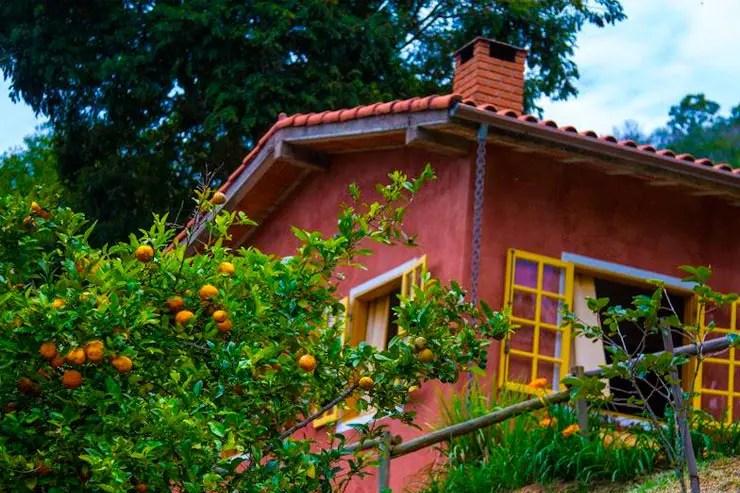 Hotéis e pousadas em Santo Antônio do Pinhal: Área externa do Vale das Araucárias (Foto: Reprodução/Booking)