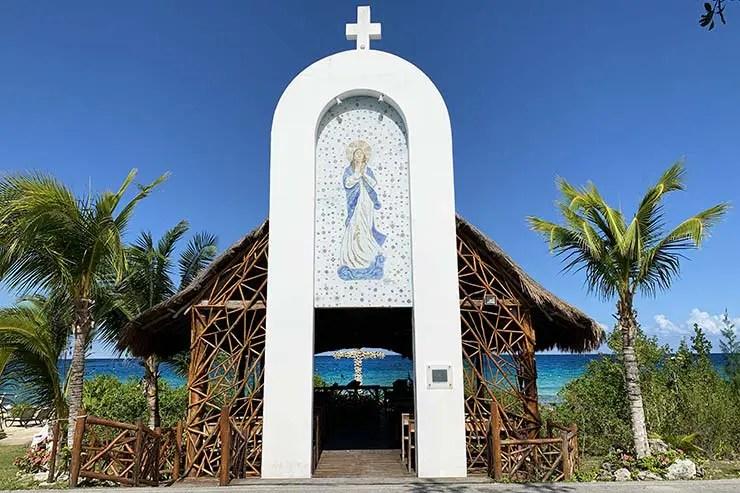 Capilla Stella Maris em Cozumel, México