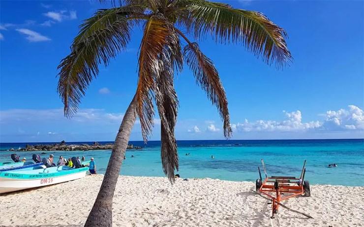 Playa Chen Rio é uma das melhores praias de Cozumel