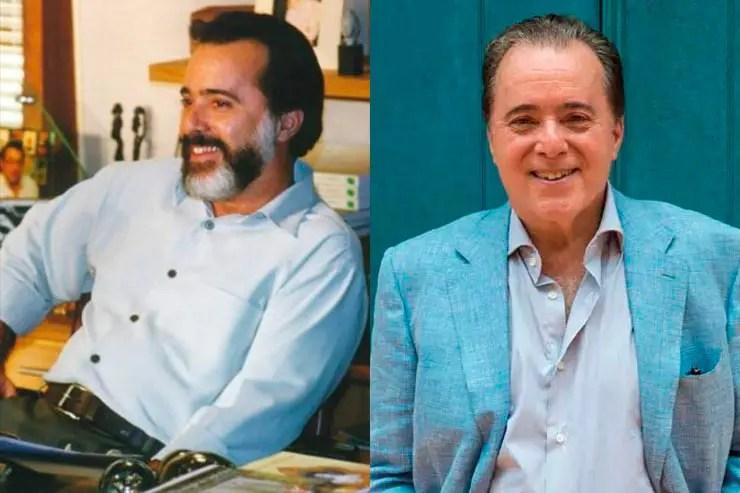 Tony Ramos (Foto: Memória Globo e Estevam Avellar/Globo)