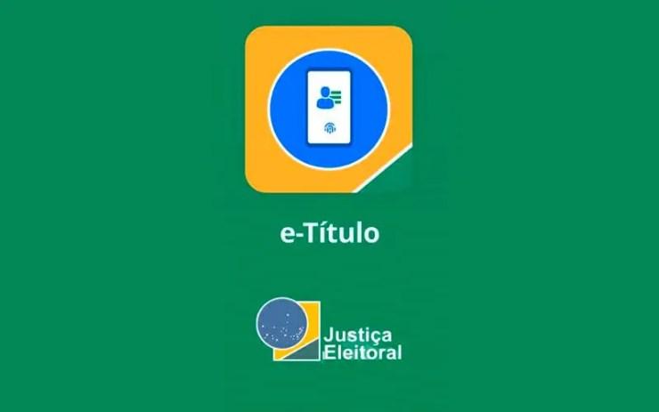 Título de eleitor digital: e-Título (Foto: Reprodução)