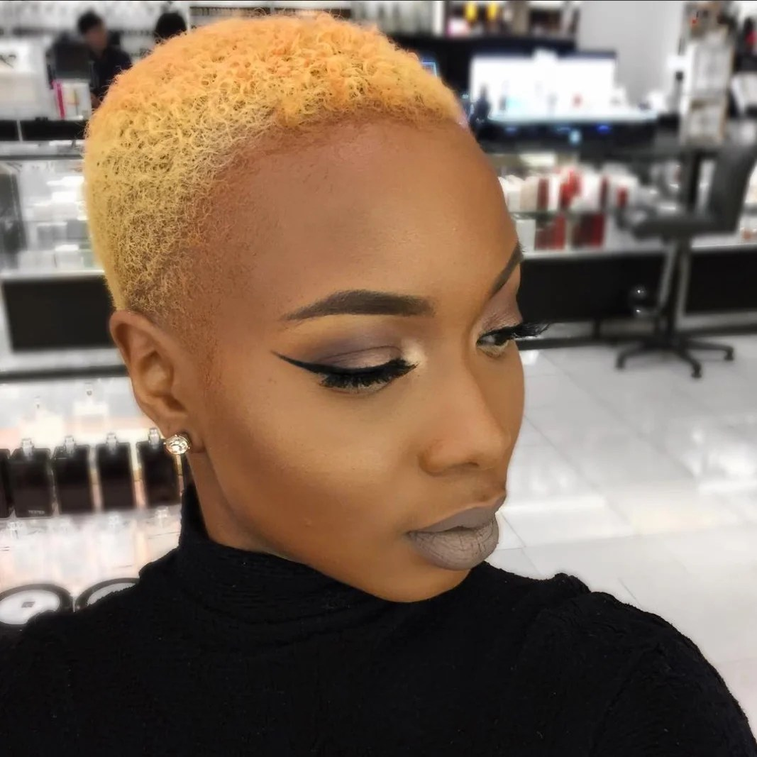 Shaved Hairstyles For Black Women Essence