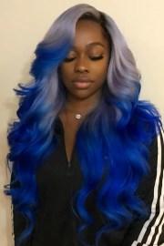rainbow hairstyles natural hair