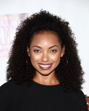 logan browning curly hair moments
