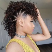mohawk hairstyles natural hair