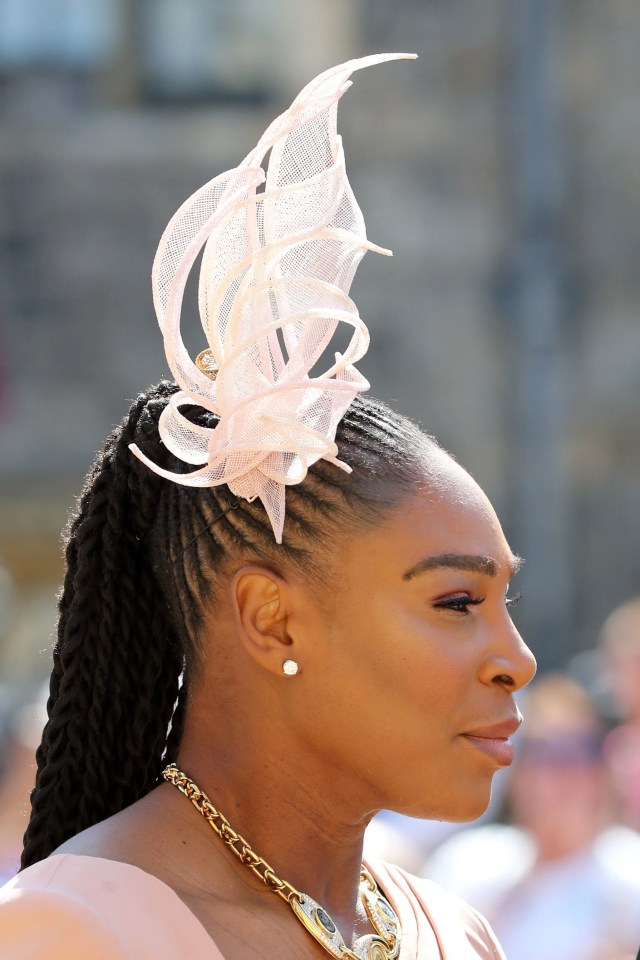serena williams slayed in braids for the royal wedding - essence