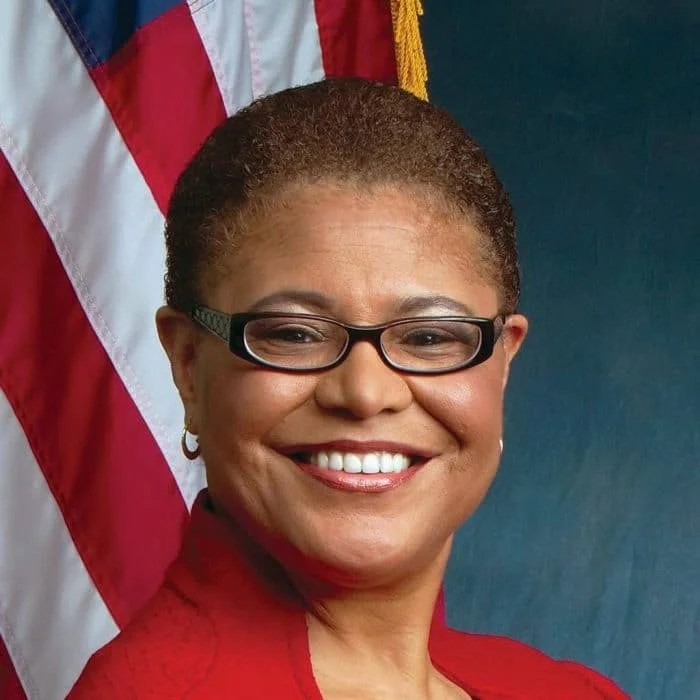 Rep Karen Bass Democratic Candidate For California S