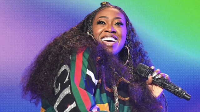 missy elliot shows us how to smooth out frizzy hair - essence