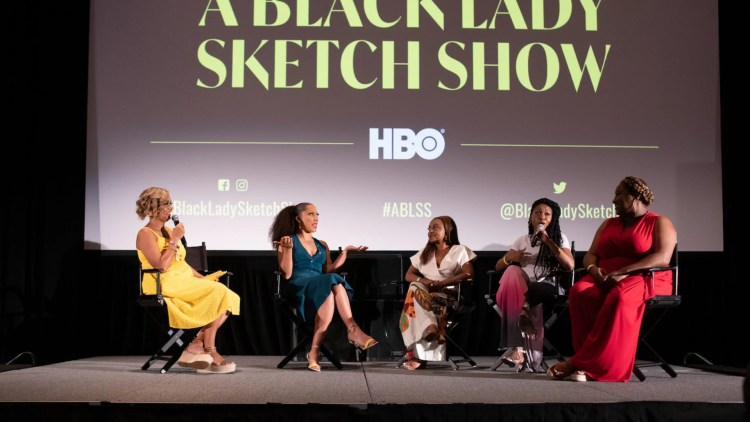 First Look into New HBO show 'A Black Lady Sketch Show' At Essence Festival