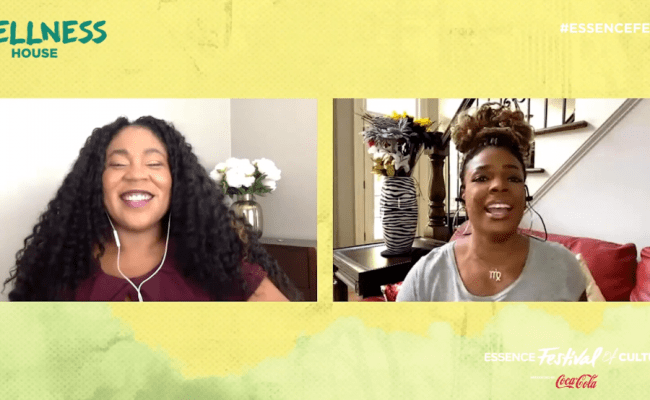 Essence Festival Wellness House 2020 Syleena Johnson Has