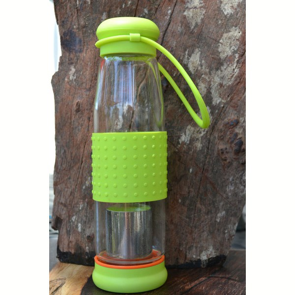 Tea Infuser Bottle – GlassTea Infuser Bottle – Glass