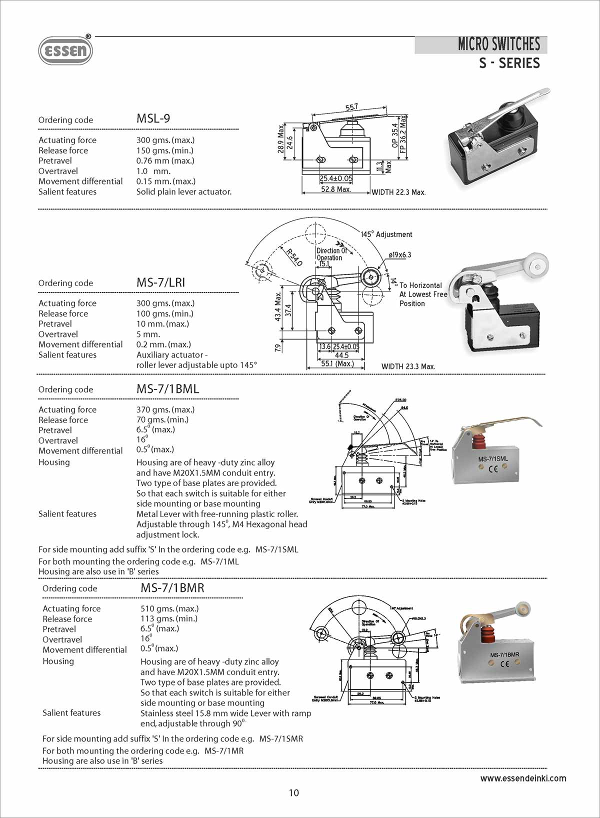 Connectors, Microswitches, Electronic Connectors, PCB