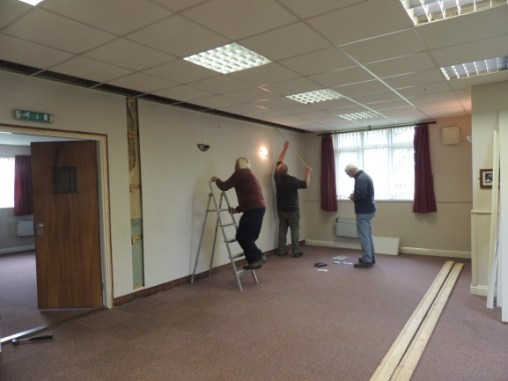Essendine Village Hall - Working Party for Essendine Village Hall 01