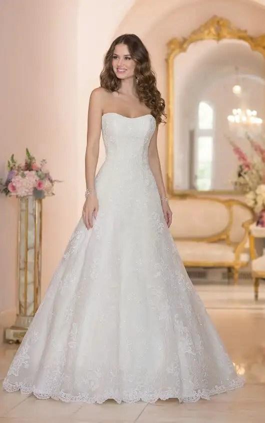 Lace Tulle Organza Wedding Dresses  Stella York