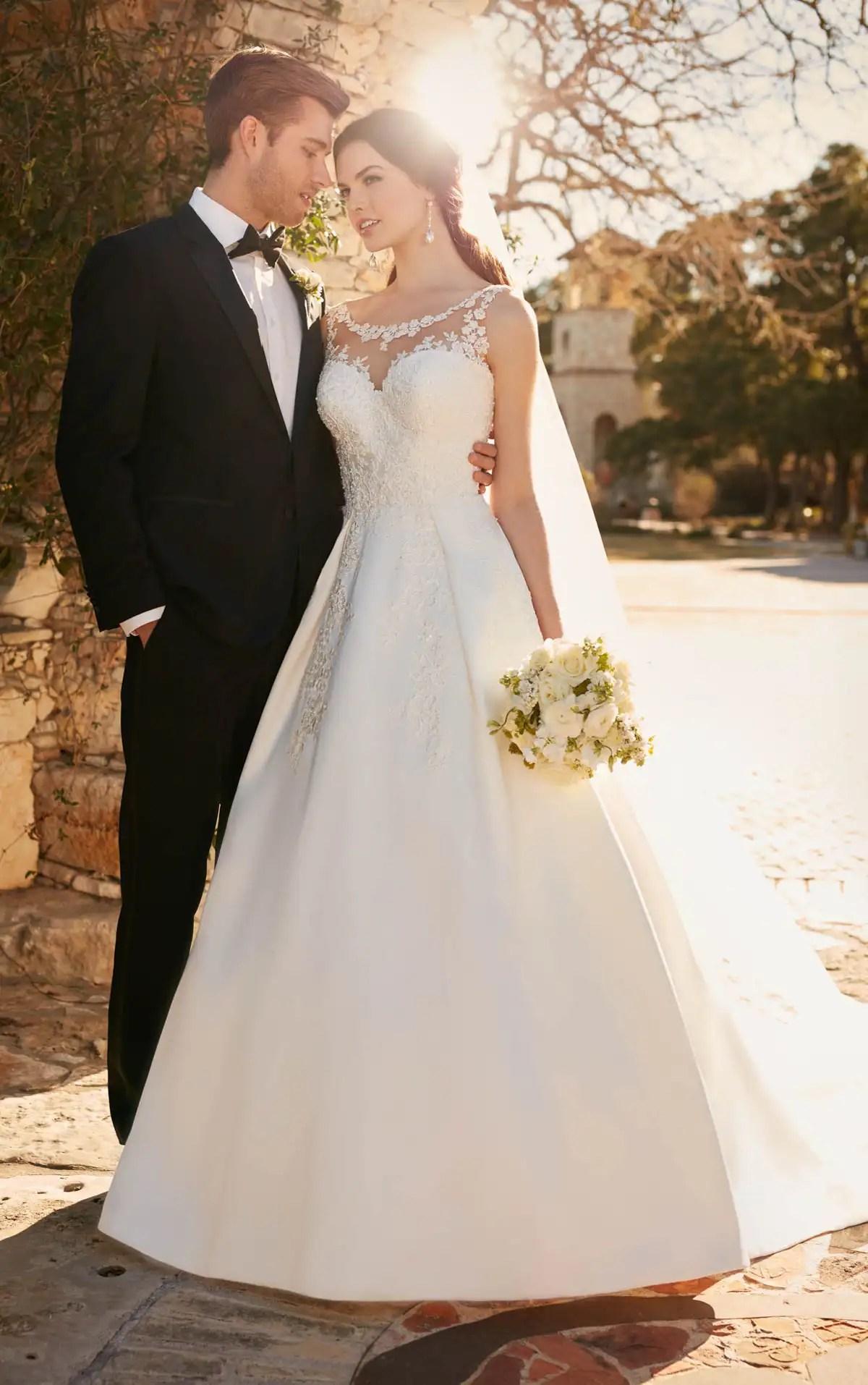 Ivory Mermaid Wedding Dresses