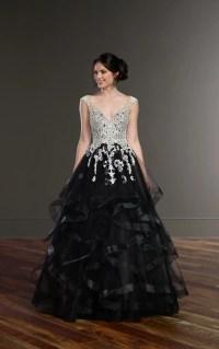Wedding Gowns | Black Princess Wedding Dress | Martina Liana