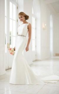 Wedding Dresses | Modern Keyhole Back Wedding Dress ...