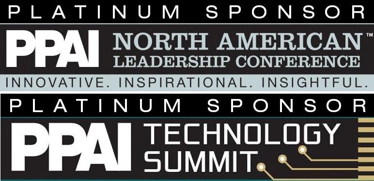 2018 PPAI NALC Tech Summit Logos Sponsor