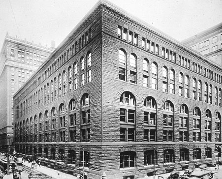 Marshall Field Wholesale Warehouse, Chicago