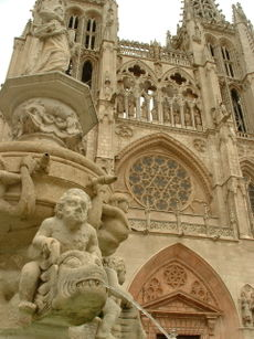 Burgos Cathedral in Castile