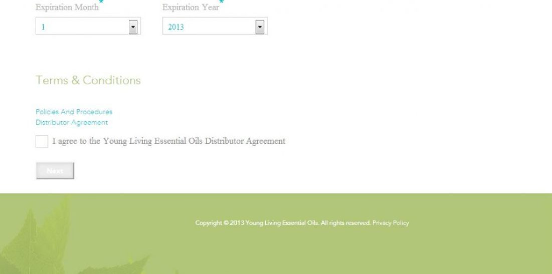 young living signup