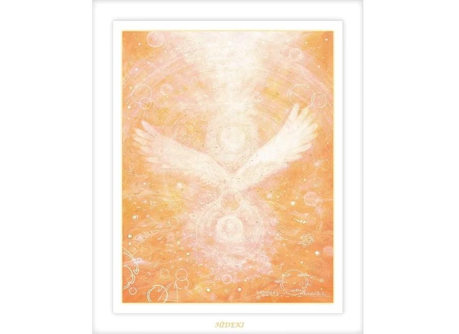 天使の絵画 Angel Biessing