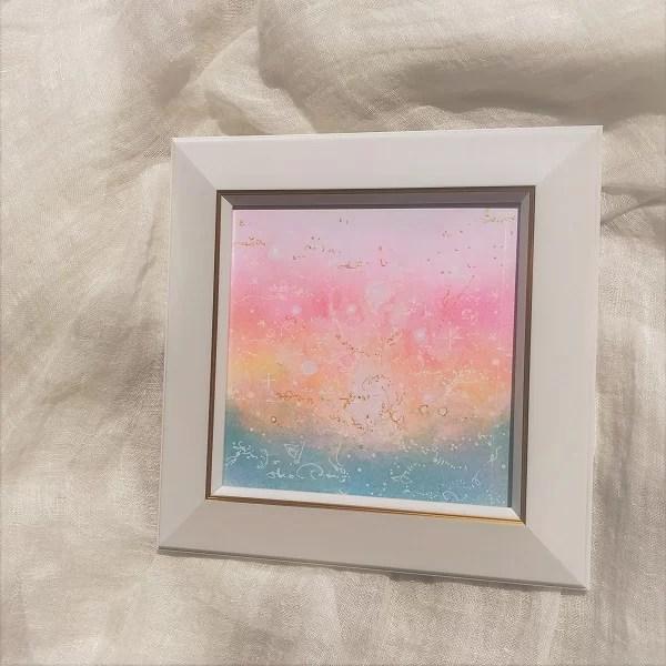 愛のチカラ・パステル絵画・パステル絵画の画像