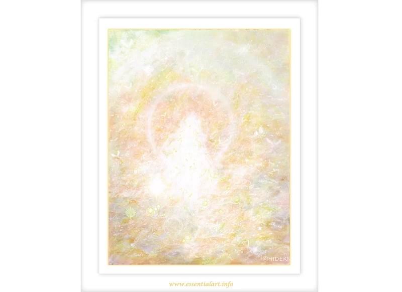 慈しみの愛、慈愛というヒーリングアートの画像