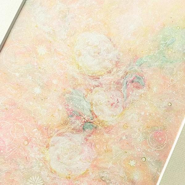 ヒーリングアート 薔薇の絵 愛しき日々