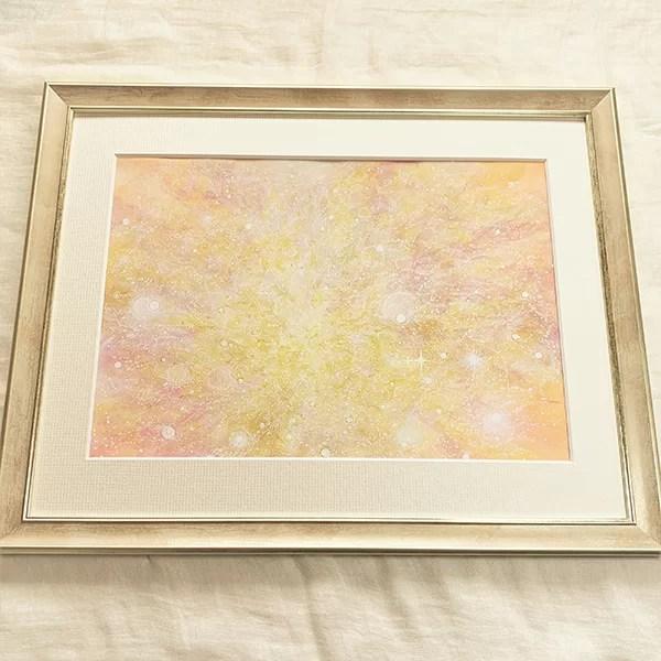 レムリアの叡智 ヒーリングアート アクリル画
