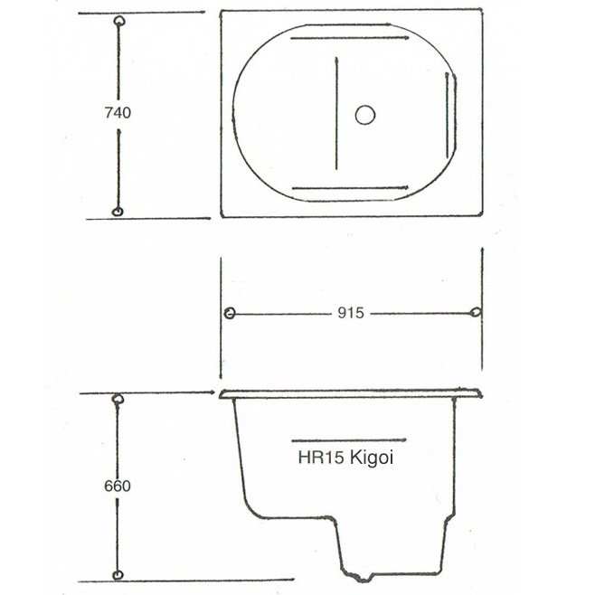 the kigoi bath compact range deep soaking bath