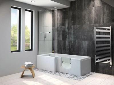 Larimer Shower Bath Essential Bathing