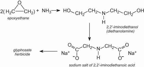 small resolution of  which on reacting form 2 2 iminodiethanol often named diethanolamine this is then converted to the sodium salt of 2 2 iminodiethanoic acid