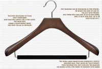 Upgrade Your Closet: Butler Luxury Wood HangersEssential ...