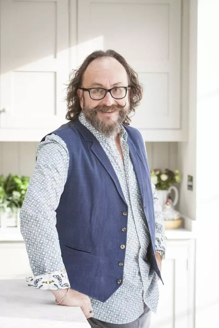 Dave Myers of the Hairy Bikers