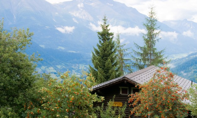 Switzerland's environmentally friendly scenic treasures